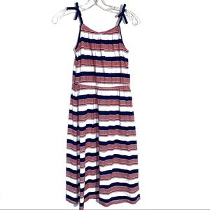 Girls Red White & Blue Maxi Dress